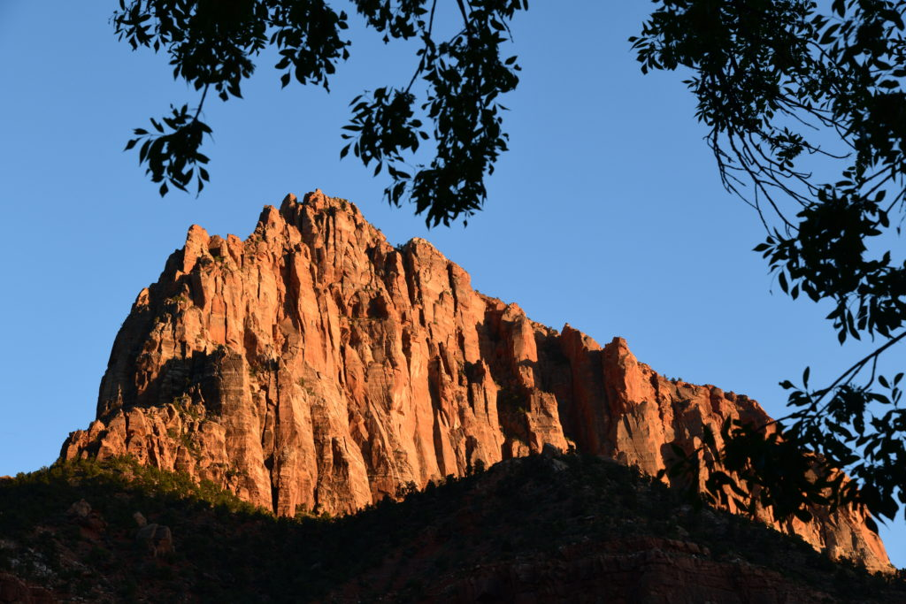 Watchman campground view