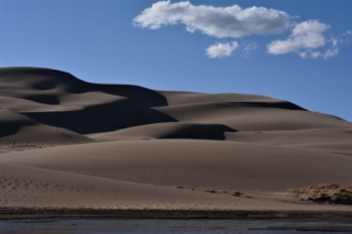 dunes and clouds