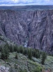 Black Canyon and trail