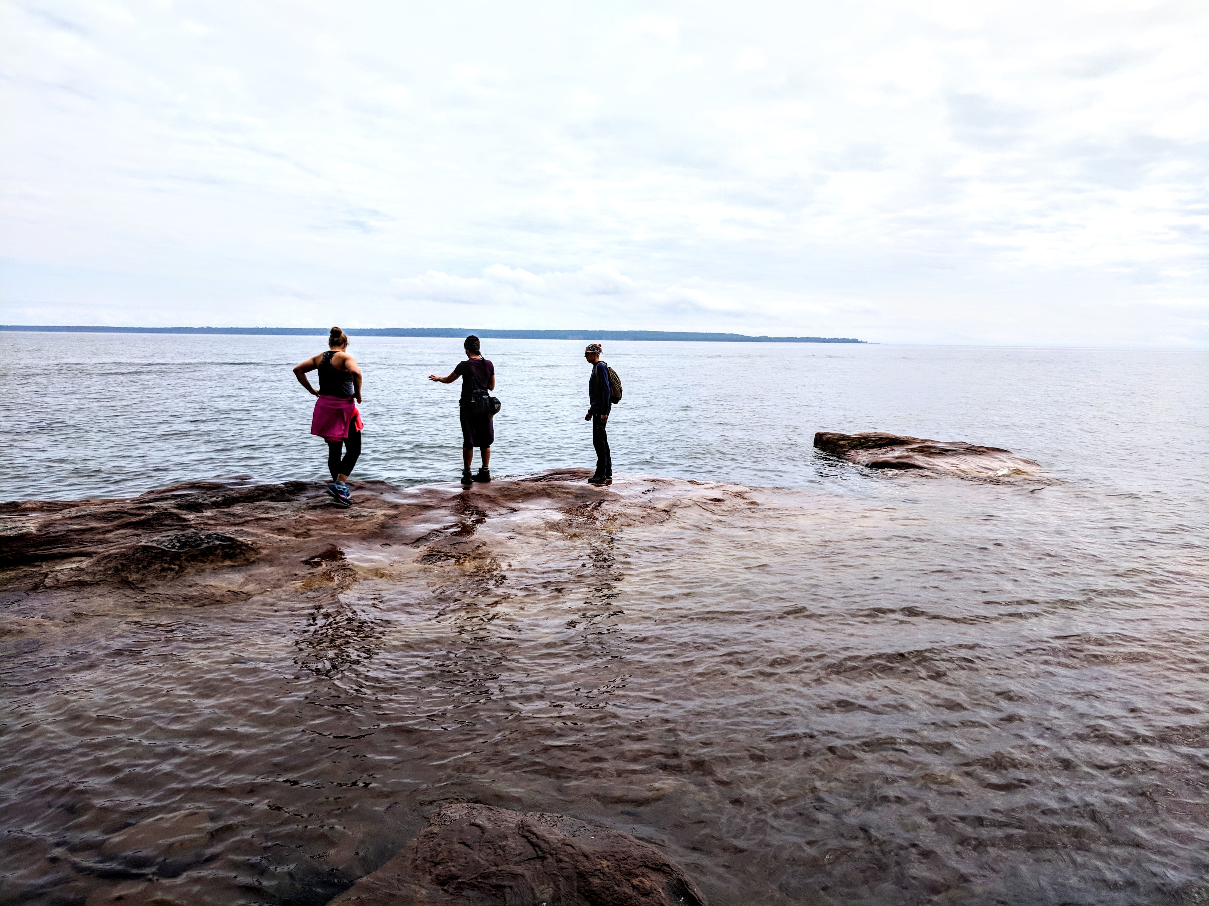 Hiking on Lake Superior, August 2018