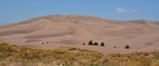 trail view of dunes