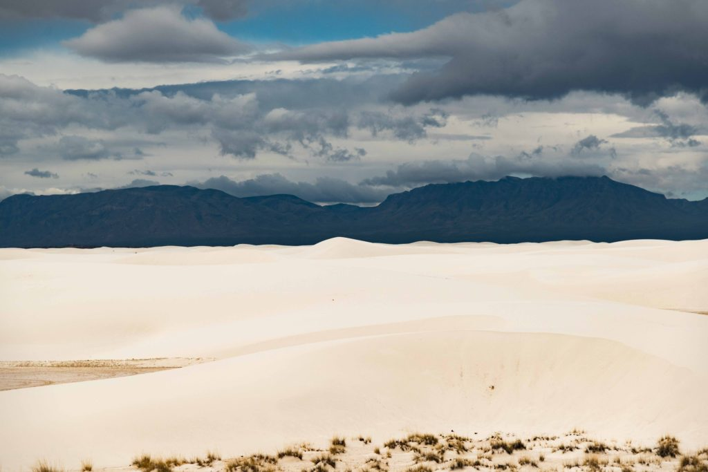 Cloudy day at White Sands